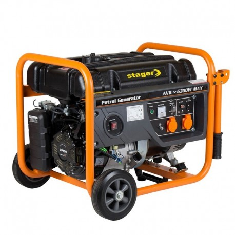 Generator open frame benzina Stager GG 7300W